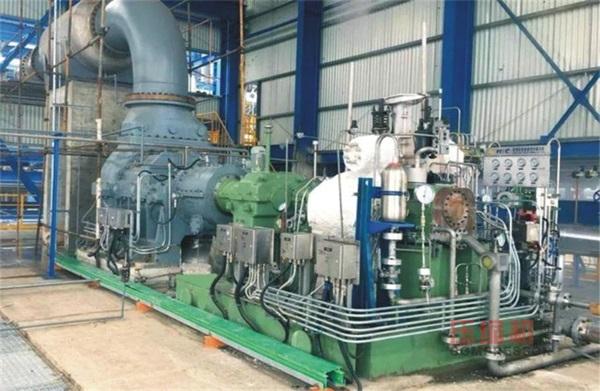 国内首台816特大型苯乙烯尾气螺杆压缩机成功投产