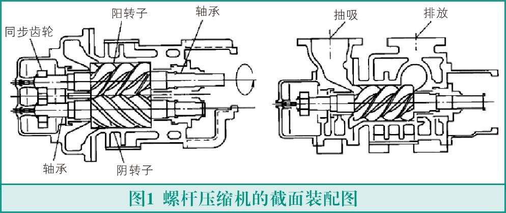 螺杆式压缩机转子故障与检测