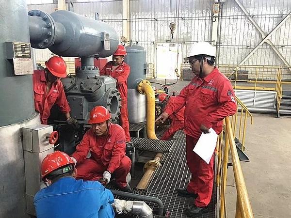 石化机器三机分公司压缩机助力涪陵页岩气田稳产上产