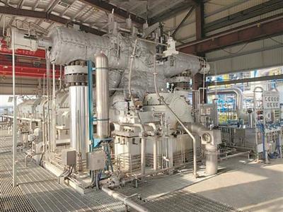 杭汽轮连云港石化乙烯压缩机标杆项目试车一次性圆满成功。