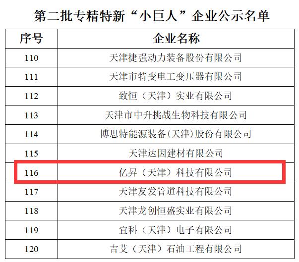 """亿昇磁悬浮鼓风机人选""""制造业单项冠军培育企业"""""""