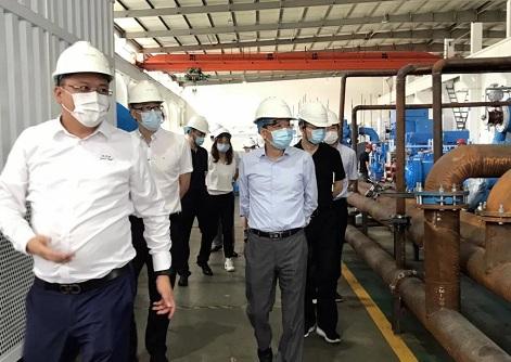 无锡高新区领导调研钛灵特压缩机公司