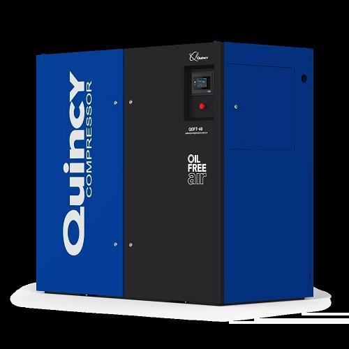昆西QOFT无油旋齿空气压缩机重磅来袭